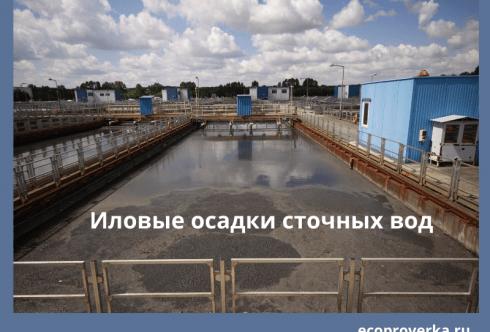 Иловые осадки сточных вод
